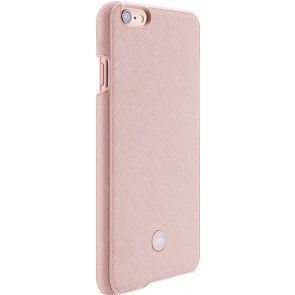 Just Mobile Quattro Back Cover iPhone 6/6S Pink zij- en achterkant