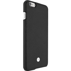 Just Mobile Quattro Back Cover iPhone 6/6S Plus Black achterkant met silver iPhone