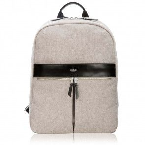 Knomo Beauchamp Backpack Grey 14 inch Voorkant
