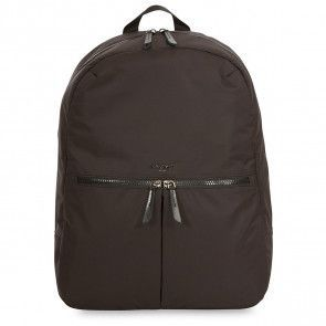 Knomo Berlin Backpack Black 15 inch Voorkant