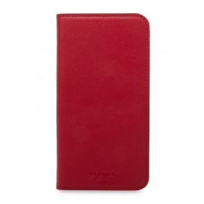 Knomo iPhone X Hoesje Leather Chili Voorkant