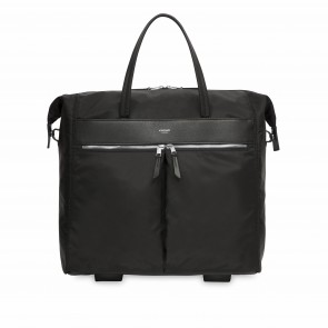 Knomo Laptop Trolley 15 inch Mayfair Sedley Zwart Voorkant
