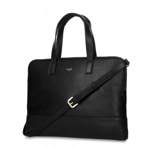 Knomo Reeves Slim Brief Black 14 inch Voorkant