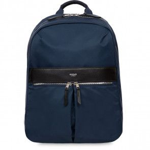 Knomo Beauchamp Backpack Navy 14 inch Voorkant