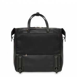 Knomo Sedley Trolley Boarding Tote Black 15 inch Achterkant