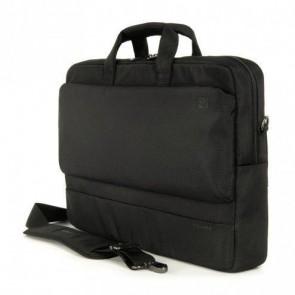 Laptop iPad tas Tucano Dritta Slim 17 inch Black Voorkant