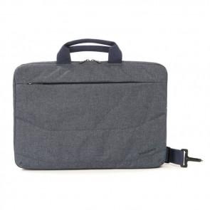 Tucano Linea Notebook Bag 15.6 inch Blue Voorzijde