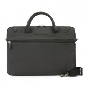 Tucano Work_Out II Slim Bag for MacBook Pro 13 inch Black Voorzijde