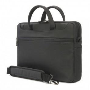 Tucano Work_Out II Slim Bag for MacBook Pro 13 inch Black Zijdelings