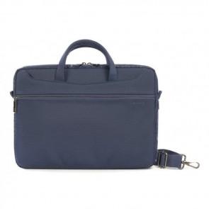 Tucano Work_Out II Slim Bag for MacBook Pro 13 inch Blue Voorzijde