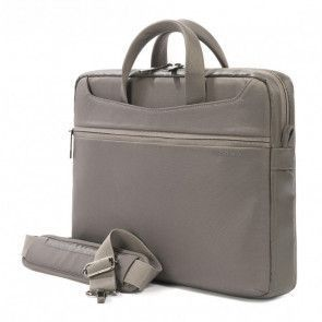 Tucano Work_Out II Slim Bag for MacBook Pro 13 inch Grey Zijdelings
