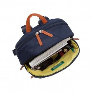 Laptop Rugzak Knomo Bathurst Backpack Navy 14 inch Open