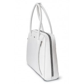 Laptoptas SOCHA Businessbag White Swan 14-15.6 inch Zijkant