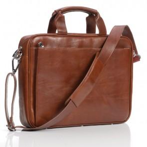 Laptoptas Succes Sandton Cognac 14-16 inch