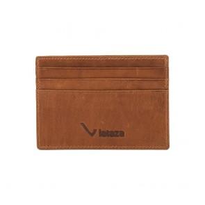 Lataza Creditcard Wallet Cognac Voorkant