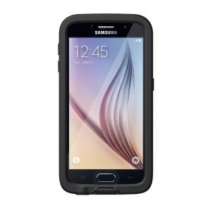 LifeProof Frē for Galaxy S6 Case Black voorkant