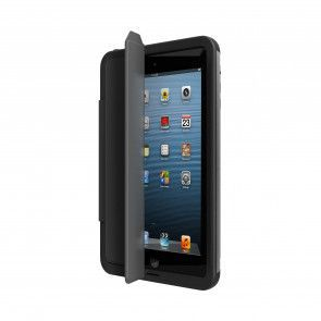 Lifeproof Fre iPad mini Portfolio Cover + Stand Black open