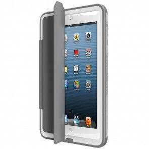 Lifeproof Fre iPad mini Portfolio Cover + Stand Grey open