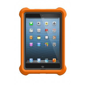 LifeProof LifeJacket for Frē or Nüüd iPad Mini 1, 2, 3 Case Orange voorkant