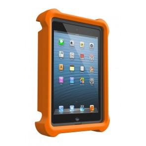 LifeProof LifeJacket for Frē or Nüüd iPad Mini 1, 2, 3 Case Orange schuin voorkant