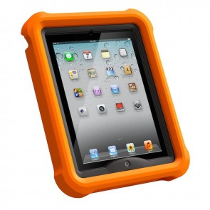 LifeProof LifeJacket for Frē or Nüüd iPad 2, 3, 4 Case Orange achterover voorkant
