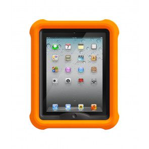LifeProof LifeJacket for Frē or Nüüd iPad 2, 3, 4 Case Orange voorkant