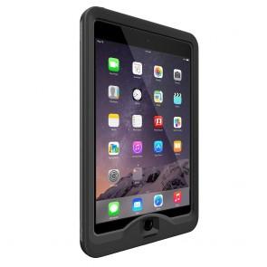 LifeProof Nüüd for iPad Mini 1, 2, 3 Case Black schuin voorkant links