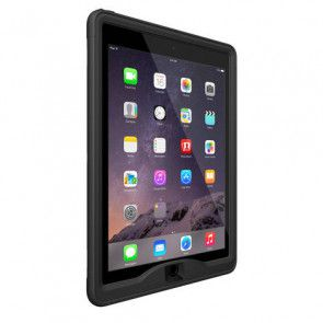 LifeProof Nüüd iPad Air 2 Case Black Zijdelings links
