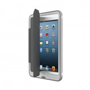 Lifeproof Nüüd iPad mini Portfolio Cover + Stand Grey open