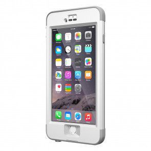 LifeProof Nüüd for iPhone 6 Plus Case Avalanche schuin voorkant