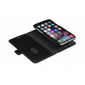dbramante1928 iPhone 11 Pro Lynge Leather Wallet Zwart