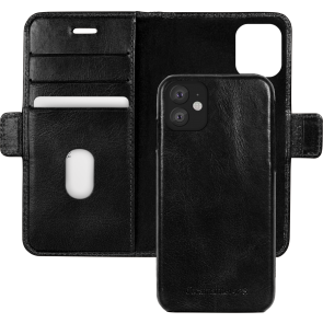 dbramante1928 iPhone 11 Lynge Leather Wallet Zwart