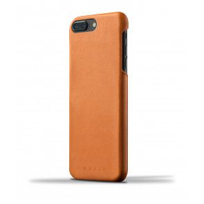Mujjo Leather Case iPhone 7 Plus Tan Achterkant