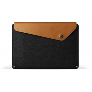 Mujjo Sleeve 15 inch MacBook Pro Tan voorkant