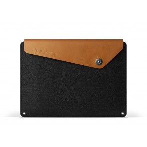 Mujjo Sleeve 12 inch MacBook Tan voorkant