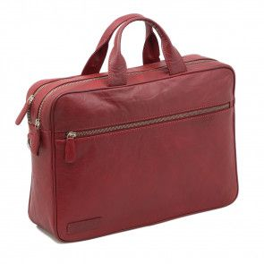 Plevier Business Laptoptas 604 Rood 12-14 inch  Voorkant