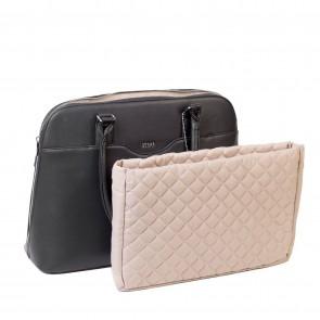 SOCHA Dames Laptoptas Couture Noir 14-15.6 inch Uitneembaar laptopvk
