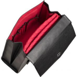 SOCHA Dames Laptoptas 13.3 inch Audrey Zwart Open