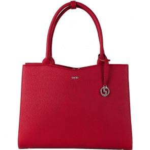 SOCHA Dames Laptoptas 13.3 inch Midi Cherry Rood Voorkant