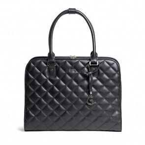 SOCHA Ella Jet Black Businessbag 11-13.3 inch Voorkant
