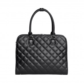 SOCHA Ella Jet Black Businessbag 11-13.3 inch Achterkant