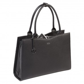 SOCHA Straight Line Businessbag Black 15.6 inch Voorkant