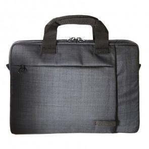 Tucano Svolta Medium Slim Laptoptas 13-14 inch Black voorkant
