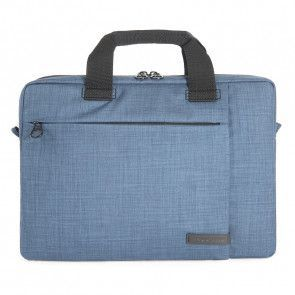 Tucano Svolta Medium Slim Laptoptas 13-14 inch Blue voorkant