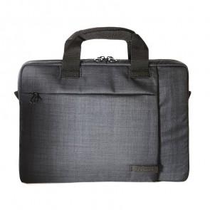 Tucano Svolta Slim Laptoptas 11 inch Black voorkant