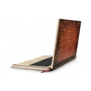 Twelve South BookBook Rutledge MacBook 12 inch schuin achterkant
