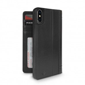 Twelve South Journal for iPhone 7/6/6S Plus Black Open en Gesloten