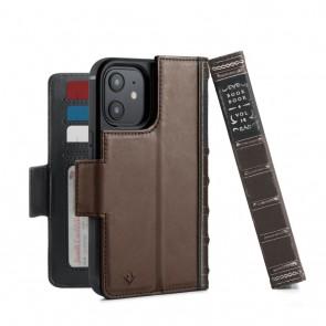 Twelve South BookBook iPhone iPhone 13 Pro Case Wallet Bruin