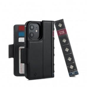 Twelve South BookBook iPhone 13 mini Case Wallet Zwart