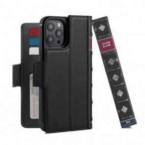 Twelve South BookBook iPhone 13 Pro Max Case Wallet Zwart